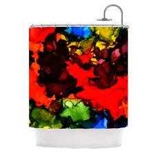Beach Bum Polyester Shower Curtain