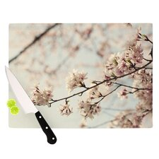 Japanese Blossom Cutting Board