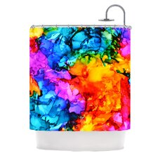 Sweet Sour II Polyester Shower Curtain
