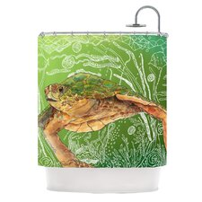 Shelley Polyester Shower Curtain