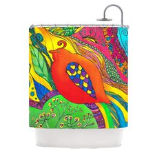Psycho-Delic Dan Polyester Shower Curtain
