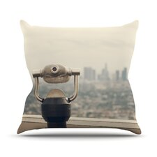 <strong>KESS InHouse</strong> The View LA Throw Pillow