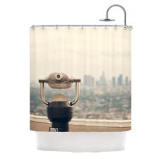 The View LA Polyester Shower Curtain