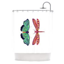 Haland Polyester Shower Curtain