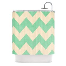 Malibu Polyester Shower Curtain