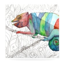 Chameleon Fail Floating Art Panel