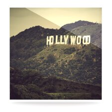 Hollywood by Catherine McDonald Photographic Print Plaque