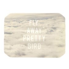 <strong>KESS InHouse</strong> Fly Away Pretty Bird Placemat