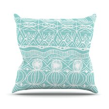 Beach Blanket Bingo Throw Pillow