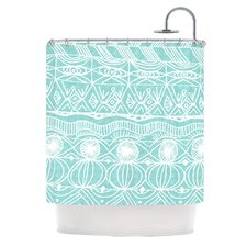 Beach Blanket Bingo Polyester Shower Curtain