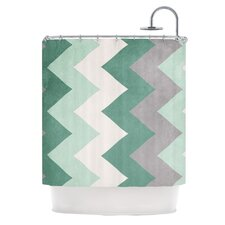 <strong>KESS InHouse</strong> Winter Polyester Shower Curtain