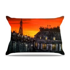 <strong>KESS InHouse</strong> Paris Microfiber Fleece Pillow Case