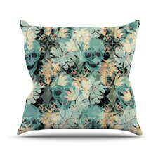 Dead Head Party Throw Pillow