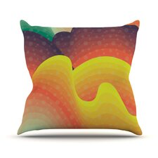Waves, Waves Throw Pillow