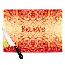 Tattooed Believer Cutting Board