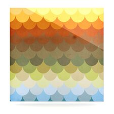 Half Circles Waves Wall Art