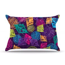 African Beat Microfiber Fleece Pillow Case