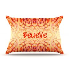 <strong>KESS InHouse</strong> Tattooed Believer Microfiber Fleece Pillow Case
