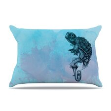 <strong>KESS InHouse</strong> Turtle Tuba II Microfiber Fleece Pillow Case