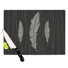 Feathers Cutting Board