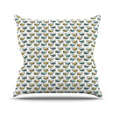 Spring Stem Throw Pillow