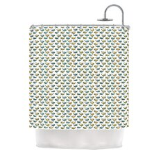 Spring Stem Polyester Shower Curtain