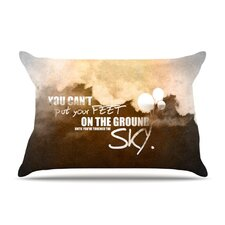 Touch The Sky Fleece Pillow Case