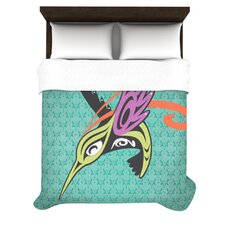 Hummingbird Friends Duvet Cover Collection