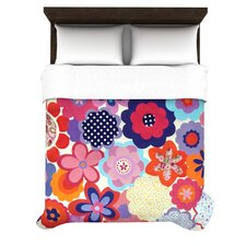 <strong>KESS InHouse</strong> Patchwork Flowers Duvet Cover Collection