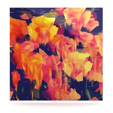 Geo Flower Floating Art Panel
