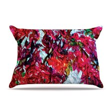 Bougainvillea Fleece Pillow Case