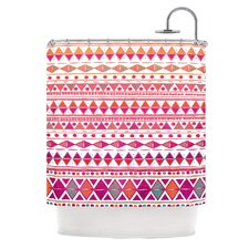 Summer Breeze Polyester Shower Curtain