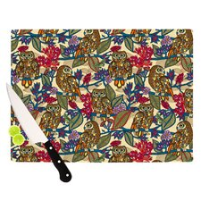 <strong>KESS InHouse</strong> My Boobooks Owls Cutting Board