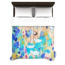 <strong>KESS InHouse</strong> Origami Strings Duvet Cover Collection