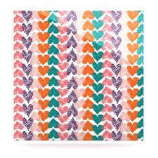 Hearts by Louise Machado Graphic Art Plaque