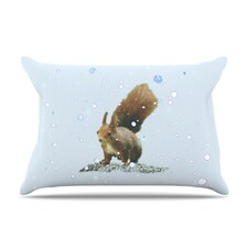 Squirrel Fleece Pillow Case
