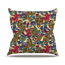 My Boobooks Owls by Julia Grifol Throw Pillow