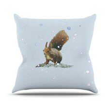 <strong>KESS InHouse</strong> Squirrel Throw Pillow