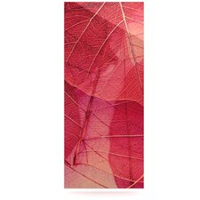 Delicate Leaves Floating Art Panel