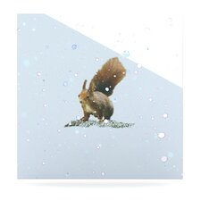 Squirrel Floating Art Panel