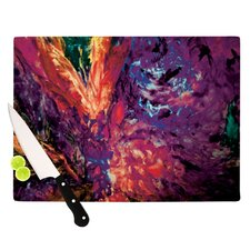 Passion Flowers II Cutting Board