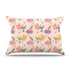 Magic Garden Fleece Pillow Case