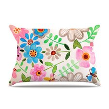 The Garden Fleece Pillow Case