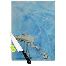Crane Cutting Board