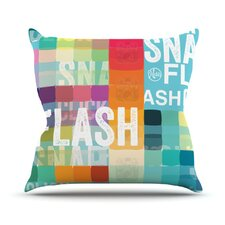 Flash Throw Pillow