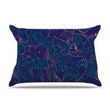 <strong>KESS InHouse</strong> Night Life Microfiber Fleece Pillow Case