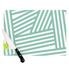 <strong>KESS InHouse</strong> Stripes Cutting Board