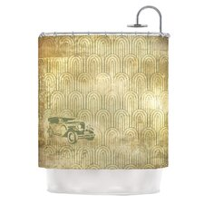Deco Car Polyester Shower Curtain