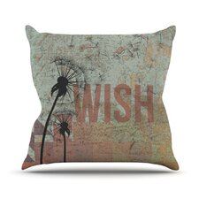 <strong>KESS InHouse</strong> Wish Throw Pillow
