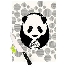 <strong>KESS InHouse</strong> Panda Cutting Board